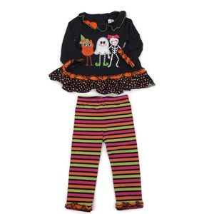 18 Month Halloween 2 Piece Outfit EUC